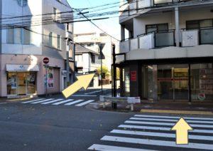 JR芦屋駅からの道順4