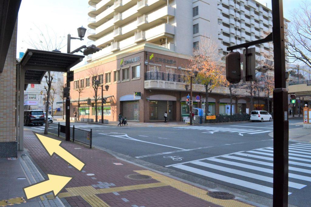 JR芦屋駅からの道順2