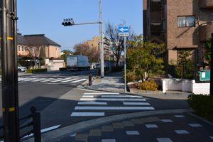 阪急芦屋川からの道順8