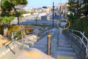 阪急芦屋川からの道順6