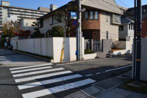 阪急芦屋川からの道順9